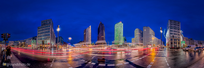 360 Grad Panorama Potsdamer Platz Berlin