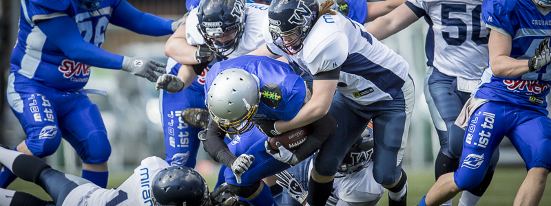 Albershausen Crusaders - Weinheim Longhorns; American Football Oberliga 2013