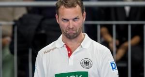 Bundestrainer Dagur Sigurdsson im Spiel Deutschland-Schweiz