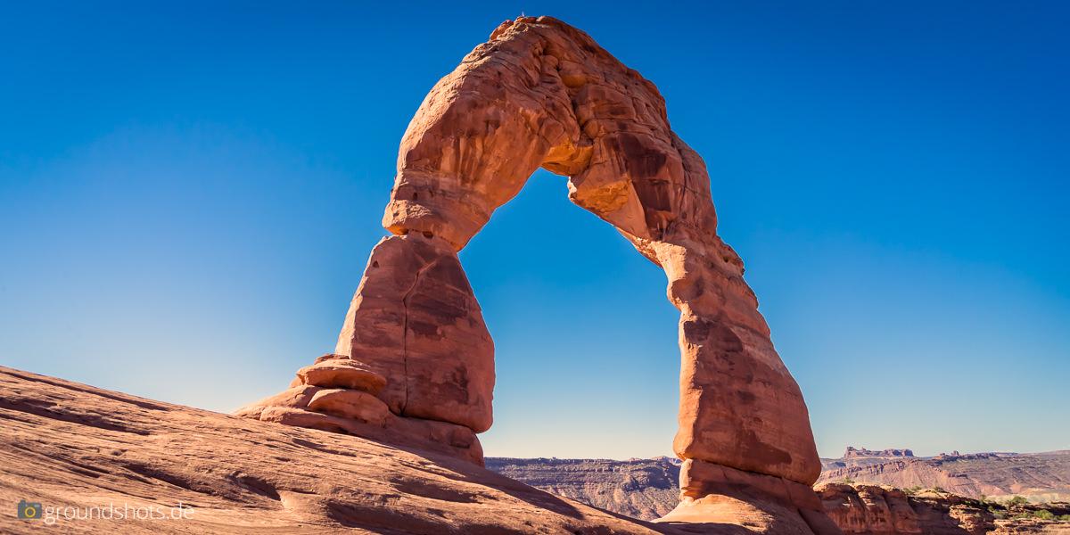 Der Delicate Arch - das Wahrzeichen Utahs