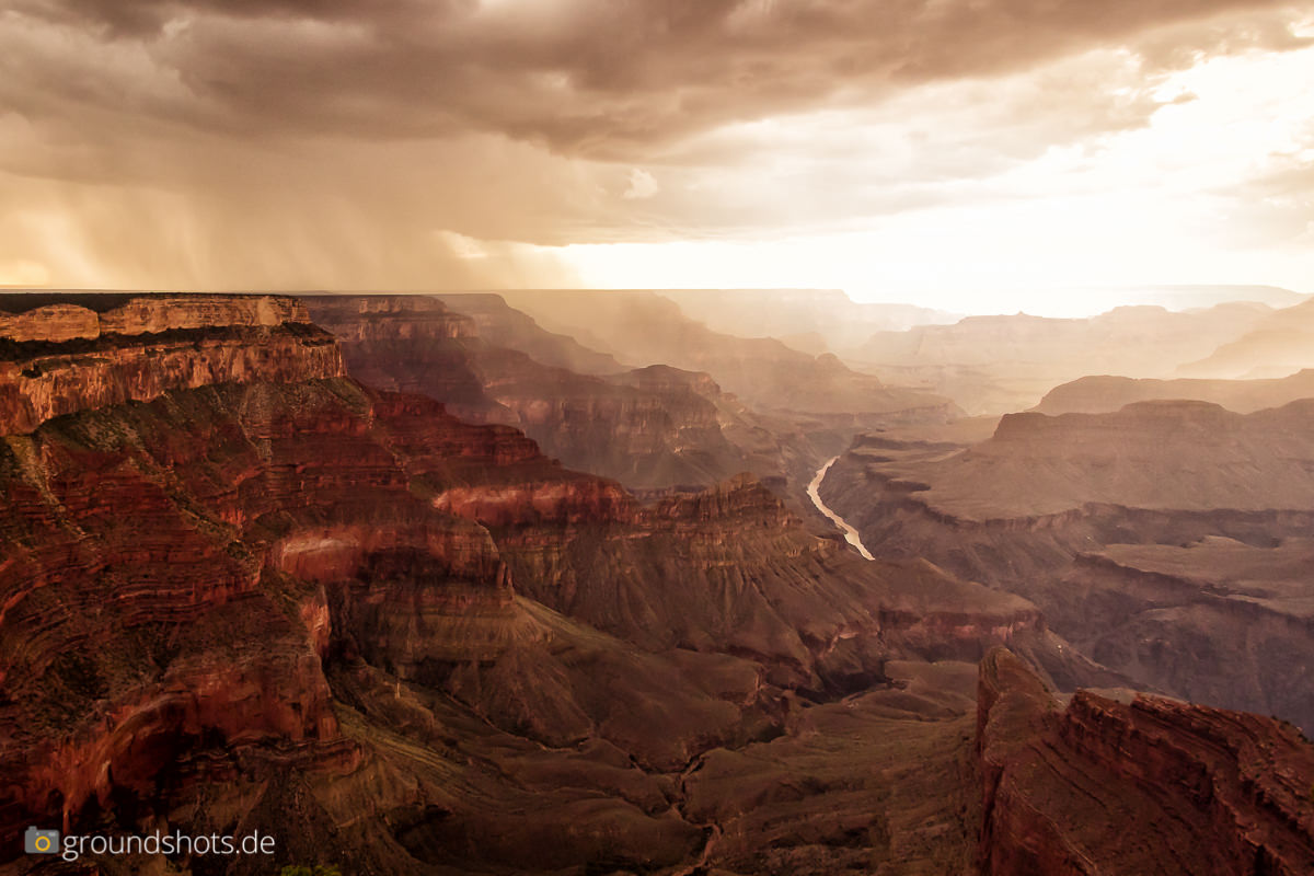 Der Grand Canyon am Mohave Point