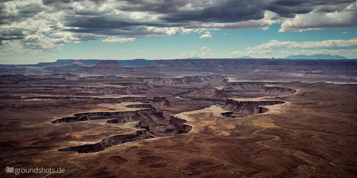 Der Green River Overlook im Canyonlands Nationalpark