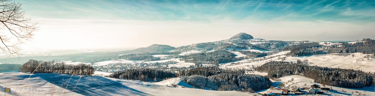Der Hohenstaufen im Winter 2015-2016