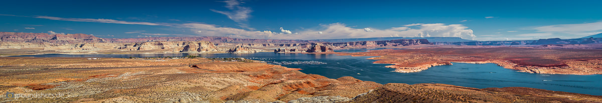 Der Lake Powell in Page