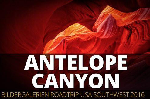 Die Bildergalerie vom Lower Antelope Canyon