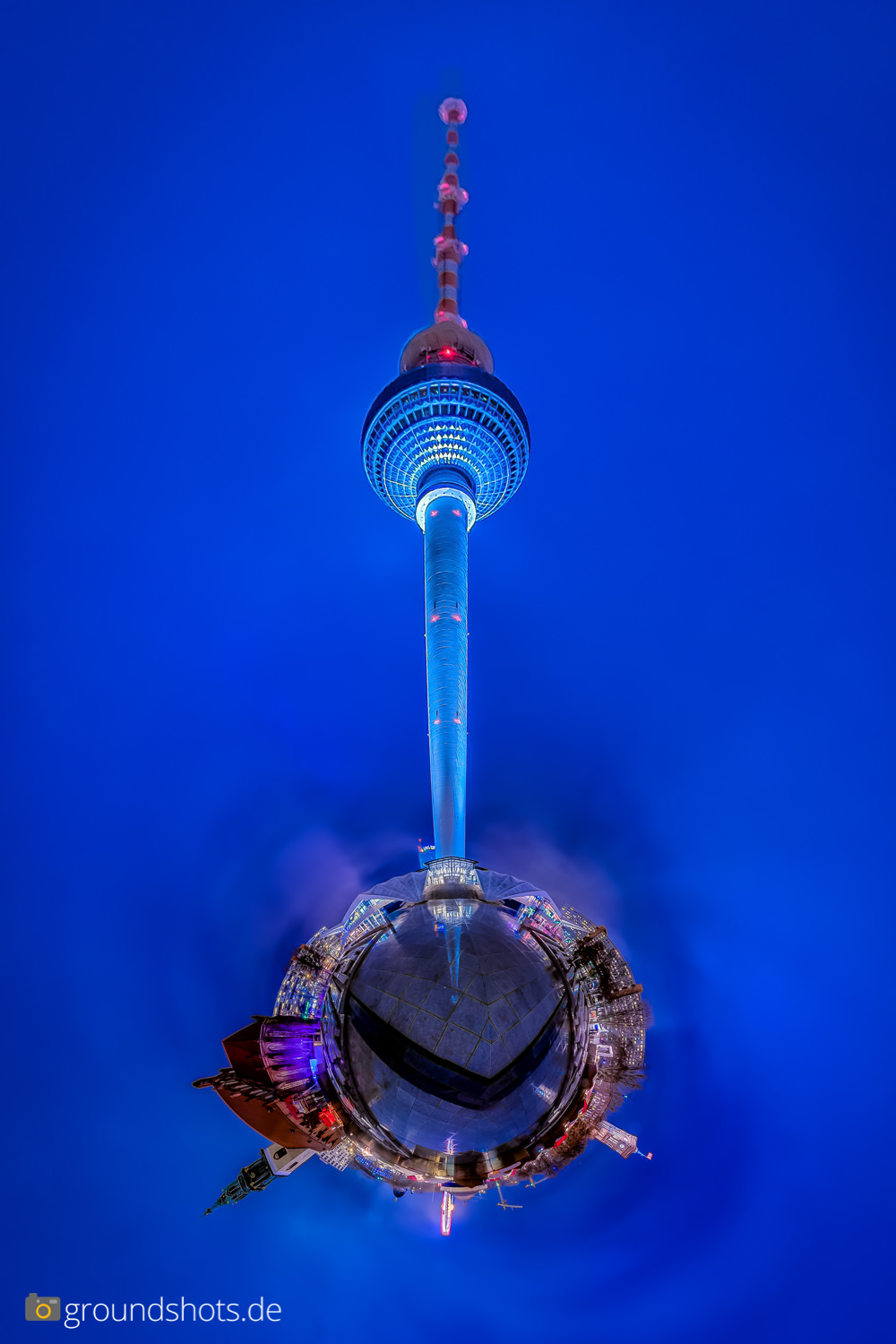 Little Planet Fernsehturm Berlin