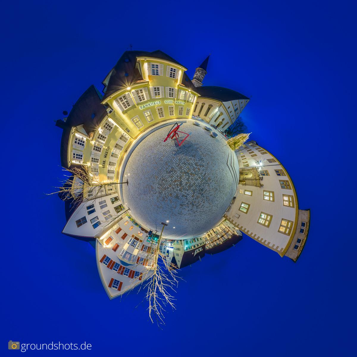 Little Planet Schlossplatz in Goeppingen