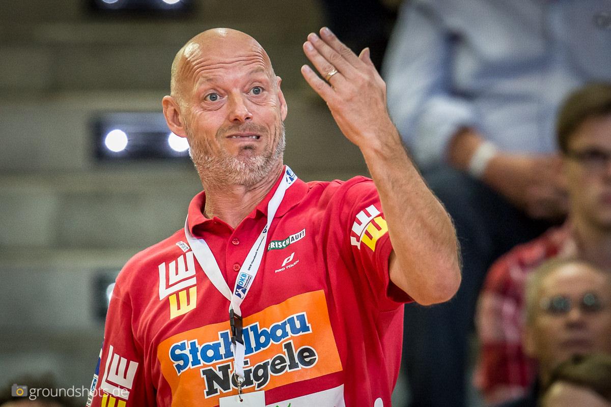 FRISCH AUF! Trainer Magnus Andersson lebt das Spiel
