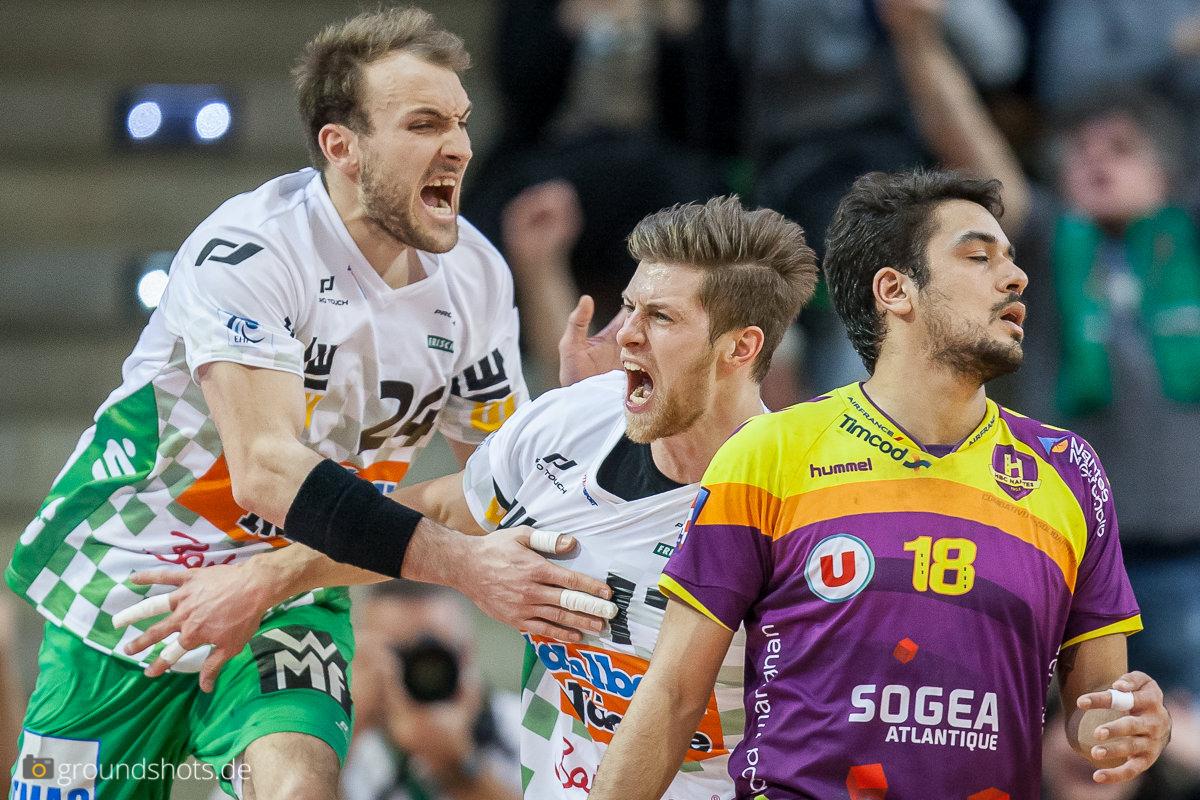 Marcel Schiller und Daniel Fontaine gegen Nantes