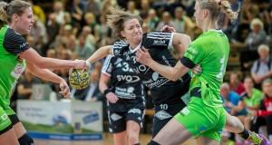 Nadine Smit im Spiel Frisch Auf Goeppingen Frauen - Celle