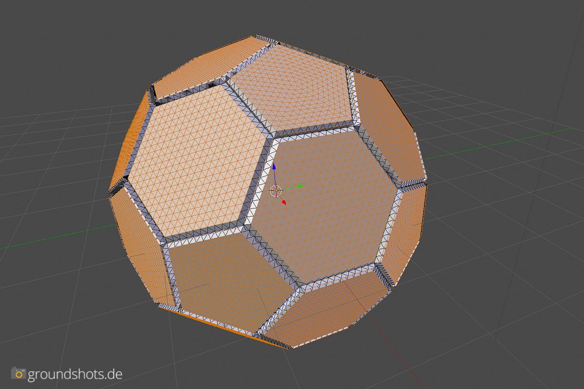 Schritt 3 - Aufblähen des Balles