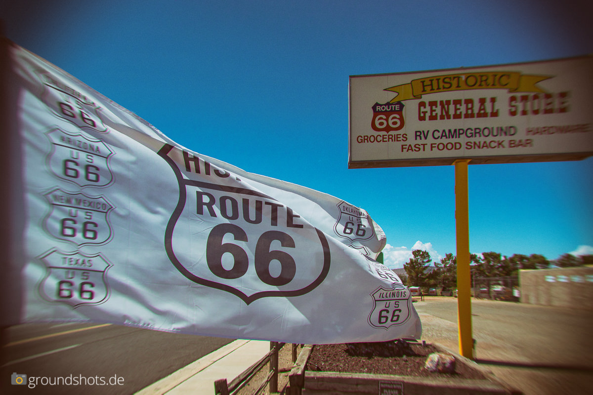 Seligman an der Historic Route 66