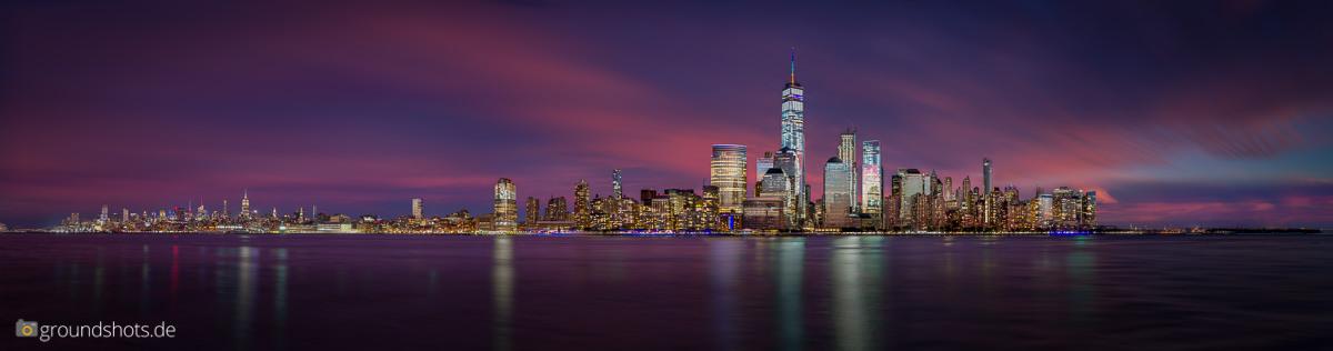 Skyline - Lower Manhattan und Midtown