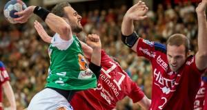 Tim Kneule im Spiel Frisch Auf Goeppingen - HC Erlangen
