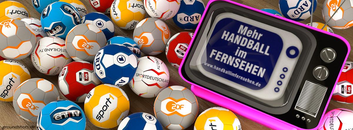 Titelbild für die Facebookseite von Handballimfernsehen