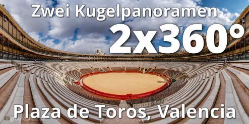 Vorschaubild Kugelpanorama Plaza de Torros Valencia