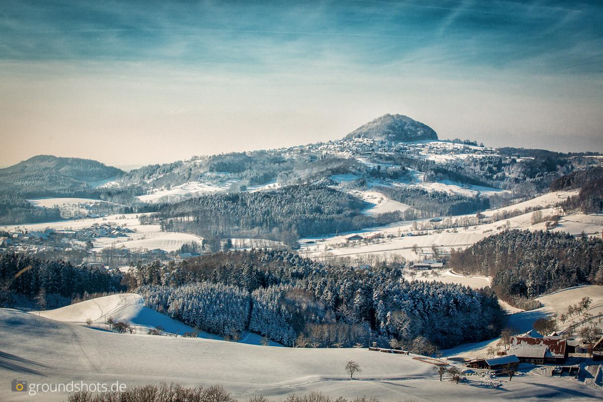 Winterlicher Hohenstaufen