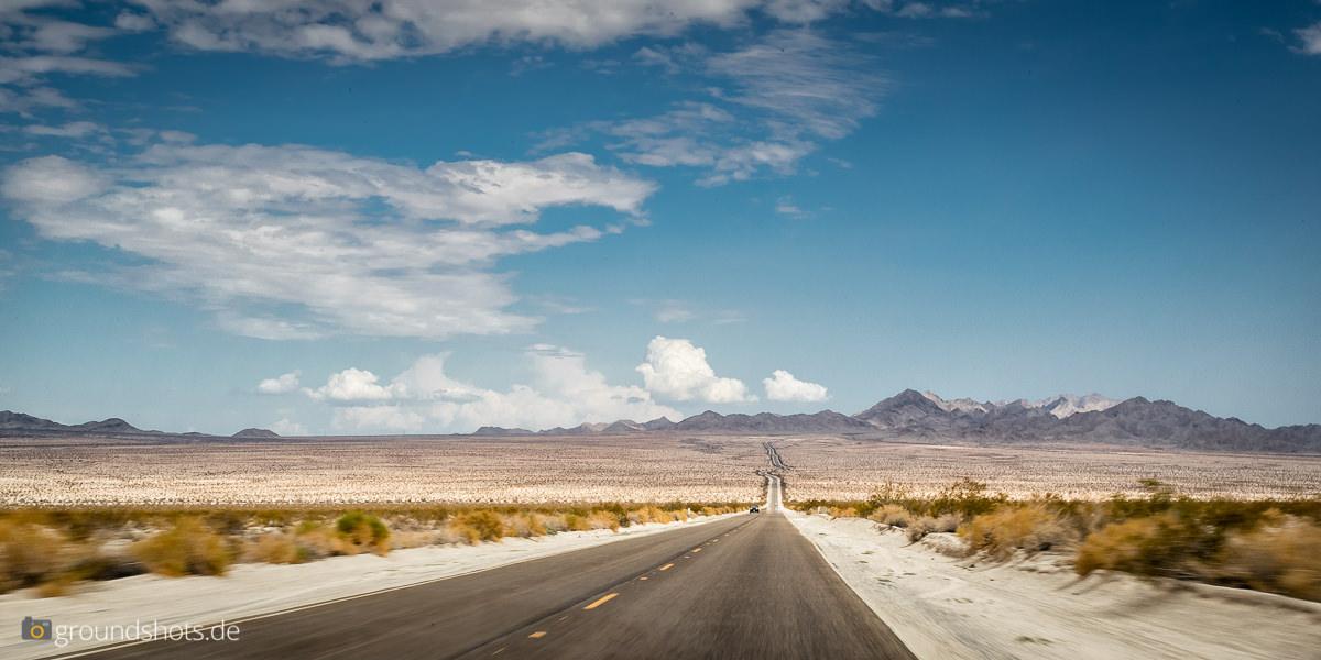 Wüste - sehr viel Wüste