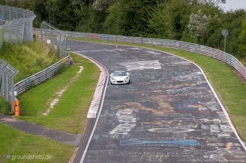 Zuschauerfoto auf dem Nuerburgring